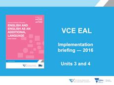 EAL Implementation workshop