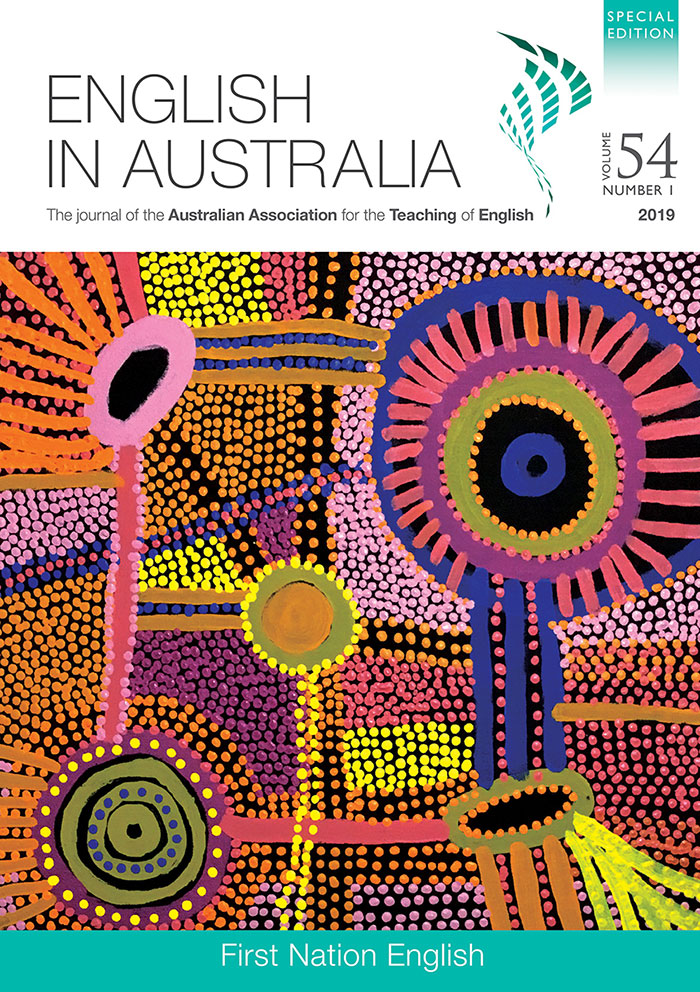 English in Australia Volume 54, number 1