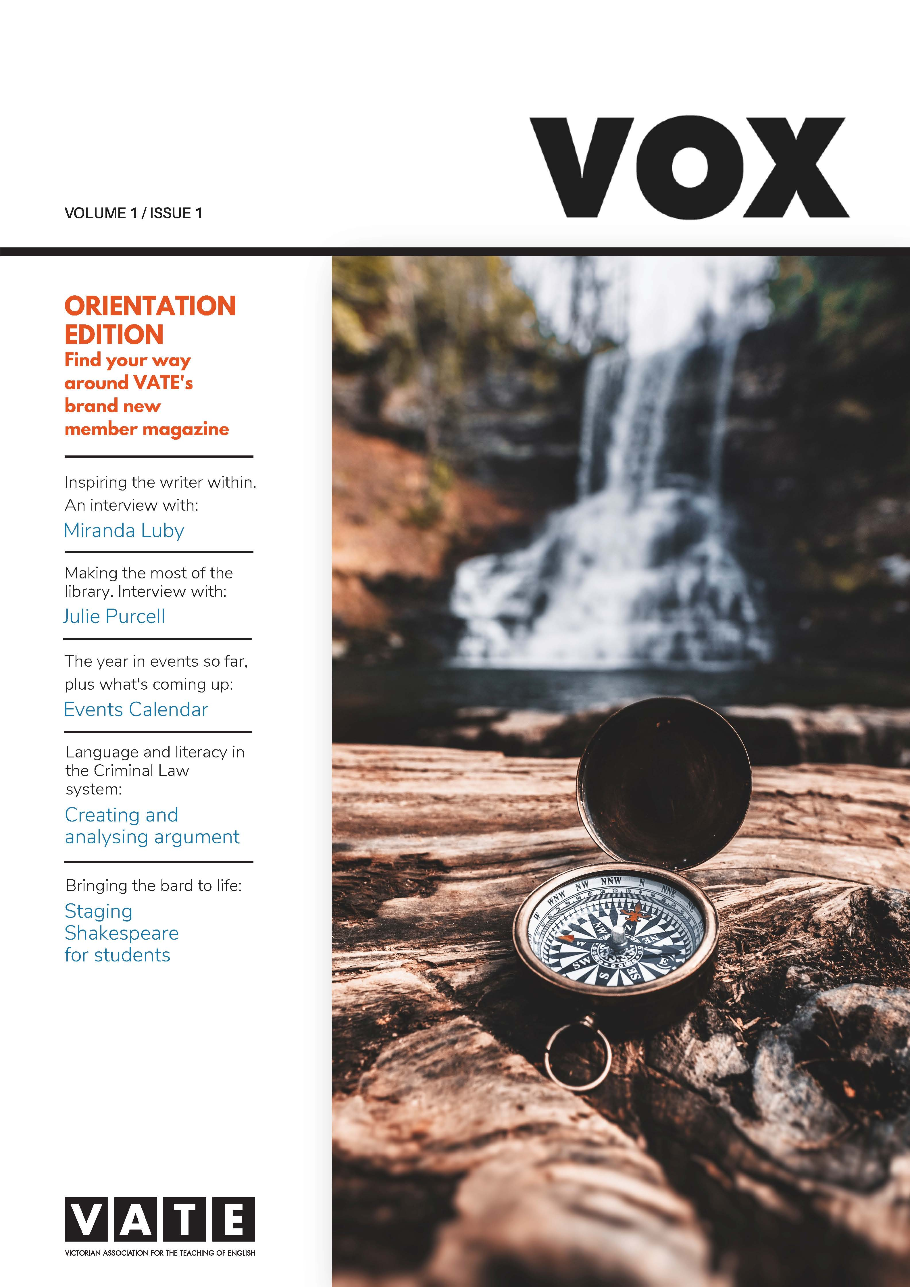 vox vol 1 iss 1 cover
